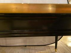 Louis XVI Style Ebony Center or Dining Table Manner of Maison Jansen Refinished - 1241073
