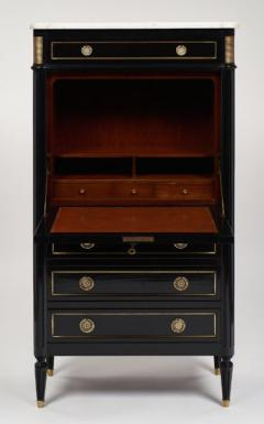 Louis XVI Style French Antique Secretary Desk - 606229