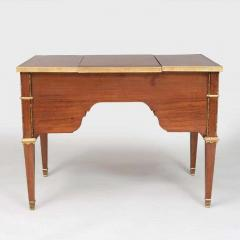 Louis XVI Style Gilt Bronze Parquetry Marquetry Dressing Table Desk or Vanity - 1250327