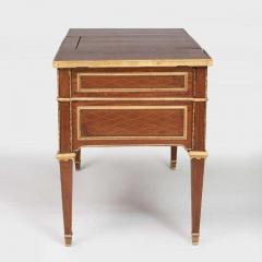 Louis XVI Style Gilt Bronze Parquetry Marquetry Dressing Table Desk or Vanity - 1250330