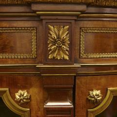 Louis XVI style satinwood vitrine with Neoclassical ormolu mounts - 1942668