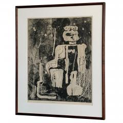 Louise Nevelson Louise Nevelson Framed Etching The Search 1953 1955 - 962550