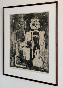 Louise Nevelson Louise Nevelson Framed Etching The Search 1953 1955 - 962551