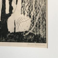 Louise Nevelson Louise Nevelson Framed Etching The Search 1953 1955 - 962552