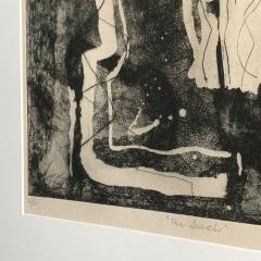 Louise Nevelson Louise Nevelson Framed Etching The Search 1953 1955 - 962554