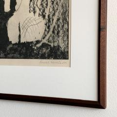 Louise Nevelson Louise Nevelson Framed Etching The Search 1953 1955 - 962556