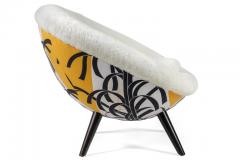 Lounge Chair in the Style of Jean Royere by Lost City Arts - 1088713