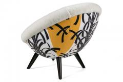 Lounge Chair in the Style of Jean Royere by Lost City Arts - 1088714