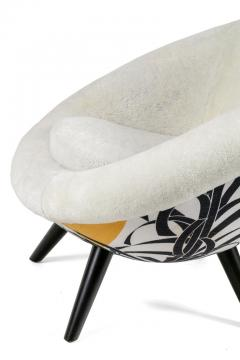 Lounge Chair in the Style of Jean Royere by Lost City Arts - 1088715