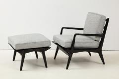 Lounge chair and ottoman Carlo di Carli for M Singer Sons - 1508095