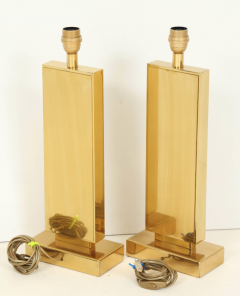 Lova Creations Pair of etched brass table lamps by Lova creation - 806265