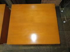Lovely Pair of Conant Ball Maple Nightstand Tables Mid Century Modern - 1613964
