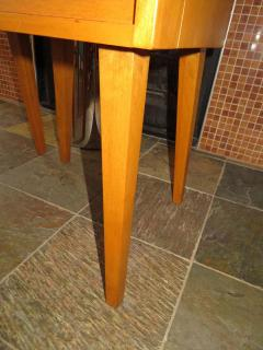 Lovely Pair of Conant Ball Maple Nightstand Tables Mid Century Modern - 1613968