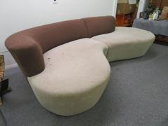 Lovely Two Piece Sectional Sofa Mid Century Modern - 1646065