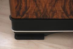 Low Bauhaus Sideboard Walnut ca 1930 - 691069