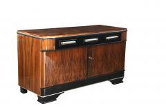 Low Bauhaus Sideboard Walnut ca 1930 - 693624