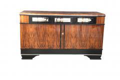 Low Bauhaus Sideboard Walnut ca 1930 - 693625