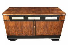 Low Bauhaus Sideboard Walnut ca 1930 - 693626