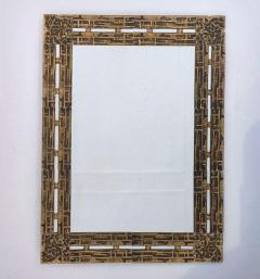 Luciano Frigerio 1970s Mirror Desir e in Bronze by L Frigerio - 254399
