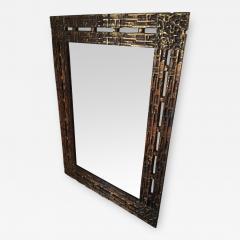 Luciano Frigerio 1970s Mirror Desir e in Bronze by L Frigerio - 254435