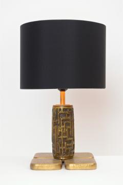 Luciano Frigerio Luciano Frigerio Bronze Table Lamps c 1960 - 1089552