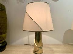 Luciano Frigerio Pair of 1980s Italian Luciano Frigerio Bronze Lamps - 1625999
