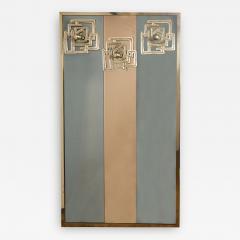 Luciano Frigerio Vintage Brass Bronze Mirror By Luciano Frigerio - 1609139