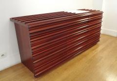 Luciano Frigerio Walnut sideboard by Luciano FRIGERIO Italy circa 1975  - 1057988