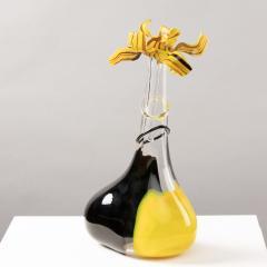Luciano Gaspari A Murano freeform bottle with stopper - 1151325