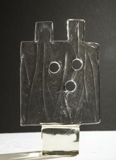 Luciano Gaspari Luciano Gaspari Glass Sculpture for Salviati - 1013758
