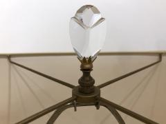 Luciano Gaspari Luciano Gaspari Glass Sculpture on Custom Lamp Pedestal - 2091025