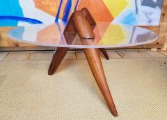Lucite Coffee Table Carlsbad Studio 1970s - 2071900