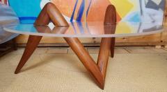 Lucite Coffee Table Carlsbad Studio 1970s - 2071906