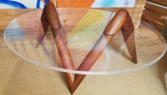 Lucite Coffee Table Carlsbad Studio 1970s - 2071907