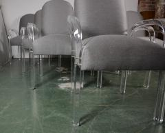 Lucite Dining Chairs S 10 - 1117134