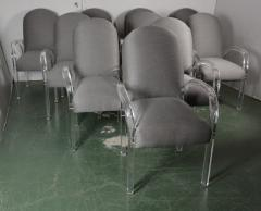 Lucite Dining Chairs S 10 - 1117135