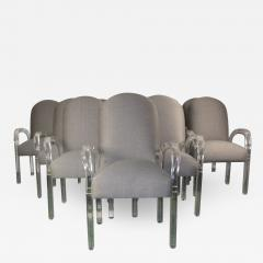 Lucite Dining Chairs S 10 - 1117422
