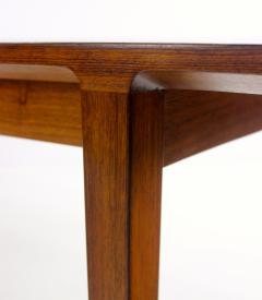 Ludvig Pontoppidan Extraordinary Danish Modern Table Designed by Ludvig Pontoppidan - 362665