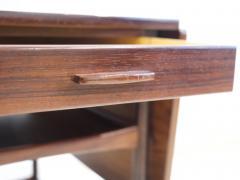 Ludvig Pontoppidan Ludvig Pontoppidan Wooden Serving Table with Black Formica Top - 1255779