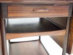 Ludvig Pontoppidan Ludvig Pontoppidan Wooden Serving Table with Black Formica Top - 1255783