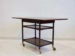 Ludvig Pontoppidan Ludvig Pontoppidan Wooden Serving Table with Black Formica Top - 1255784