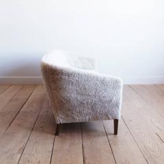 Ludvig Pontoppidan Three Seat Shearling Sofa by Ludvig Pontoppidan - 1227787