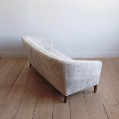 Ludvig Pontoppidan Three Seat Shearling Sofa by Ludvig Pontoppidan - 1227788