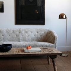 Ludvig Pontoppidan Three Seat Shearling Sofa by Ludvig Pontoppidan - 1227790