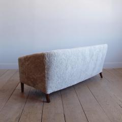 Ludvig Pontoppidan Three Seat Shearling Sofa by Ludvig Pontoppidan - 1227791
