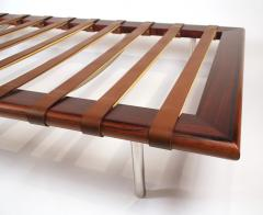 Ludwig Mies Van Der Rohe Early Production Rosewood Daybed designed by Ludwig Mies van der Rohe - 832384