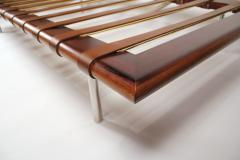 Ludwig Mies Van Der Rohe Early Production Rosewood Daybed designed by Ludwig Mies van der Rohe - 832390