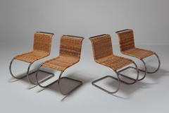 Ludwig Mies Van Der Rohe Ludwig Mies Van Der Rohe Set of Four B42 Weissenhof Chairs by Tecta 1982 - 940013