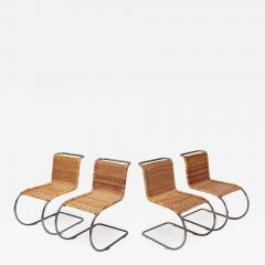 Ludwig Mies Van Der Rohe Ludwig Mies Van Der Rohe Set of Four B42 Weissenhof Chairs by Tecta 1982 - 942150