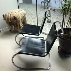 Ludwig Mies Van Der Rohe MR Lounge Chairs Mies Van Der Rohe Knoll Ass  - 1718675